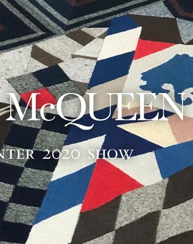 Živě z Paříže: Alexander McQueen autumn–winter 2020/2021